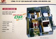 Chính chủ bán chung cư SME Hoàng Gia, căn góc 15C7, DT 84m2, giá 18tr/m2 - 0932323326