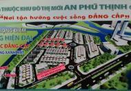 Bán đất tại khu đô thị An Phú Thịnh, Phường Đống Đa, Quy Nhơn. Diện tích 91,5m2, giá 1.83 tỷ