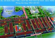 Bán đất khu Nguyễn Quyền phường Đại Phúc giá từ 1,7 tỷ/lô. LH: 0963 280 865