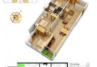 Chính chủ cần bán gấp căn hộ DT 103.9m2 dự án Mỹ Sơn đường Nguyễn Huy Tưởng, giá 26.5 tr/m2