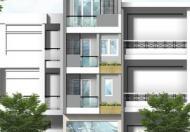 Cho thuê nhà HXH D1, Q. Bình Thạnh, (DT: 6x18m, trệt, lửng, 4 lầu, thang máy). Giá: 74tr/th