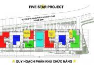BQL cho thuê siêu dự án Five Star Garden, nhà hàng, showroom, hiệu thuốc, cafe