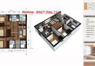 Căn góc 08 tầng 10 chung cư V3 Prime Hải Phát