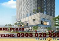Cần bán gấp CHCC Pearl Plaza 2PN, căn góc view sông cực đẹp, tầng cao – Hotline 0908 078 995