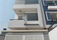 Bán nhà mới xây 100%, thiết kế 1 trệt 3 lầu 4PN 5WC, sân ô tô, SHR sát đường Phạm Văn Đồng