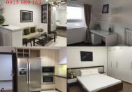 Cho thuê căn hộ dịch vụ tại khu vực Xã Đàn 75m2, 2PN, full đồ giá 8.5 triệu/tháng