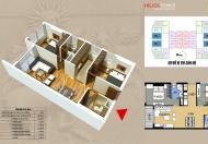 Nhà ở ngay. Tôi bán CHCC 75 Tam Trinh 1206(70m2), giá 25tr/m2 lh 0981017215