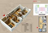 (0981 017 215) chính chủ 2008 Helios 75 Tam Trinh, 3 phòng ngủ 98.5m2 vào ở luôn. Giá 25tr/m2