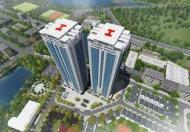 Giá bán 1,3 tỷ căn hộ 2 ngủ, 2 vệ sinh view Hồ Linh Đàm liên hệ: 0985 409 147