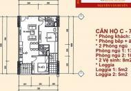 Chính chủ cần bán căn chung cư Học Viện Kỹ Thuật Quân Sự, 60 Hoàng Quốc Việt, giá bán 26tr/m2