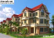 Bán ô góc LK21, 22 dự án Phú Lương hướng ĐN 2 mặt tiền đường lớn giá từ 29 triệu/m2. LH 0967.506216