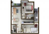 Sacomreal bán căn hộ Cộng Hòa Garden, liền kề sân bay, căn 1PN giá từ 1,2 tỷ/căn (VAT)