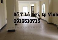 Cho thuê văn phòng tại phường Lê Lợi, tp Vinh, Nghệ An