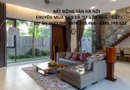 Bán biệt thự nhà vườn 105m2, 132m2, 147m2, 170m2 khu ĐTM Trung Văn Hancic tổng nhà giá rẻ