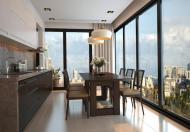 Cho thuê căn hộ chung cư 51 Quan Nhân, DT 105m2, 3 PN, đồ có điều hòa, sàn gỗ, giá 12 tr/th
