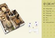 Bán hòa vốn căn 01 61,56 m2 chung cư Home City, 2PN, miễn 3 năm phí dịch vụ 0981.079.456