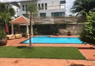 Cho thuê villa khu Compound Nguyễn Văn Hưởng, bảo vệ 24/24, 8PN, call Ms. Hương 01643691428