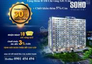 Bán căn hộ Soho Premier đã cất nóc qua tết nhận nhà, tặng bếp và chiết khấu thêm gần 250 triệu/căn