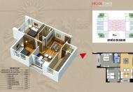 Không ở, bán CC 75 Tam Trinh căn hộ 1007(79m2) giá 25.5tr/m2 bao sang tên