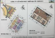 Cần tiền bán gấp căn hộ 606 chung cư HH02/1A Thanh Hà Mường Thanh