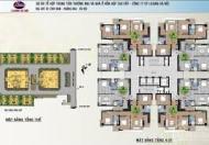 Cần bán gấp căn hộ chung cư 52 Lĩnh Nam, căn tầng 1106 DT: 92m2 giá bán: 15tr/m2 LH: 0989540020