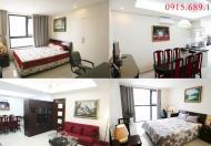 Cho thuê căn hộ chung cư Golden Land 115 m2, 3PN, giá 13 triệu/tháng