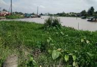 Bán nền mặt tiền hồ Bún Xáng đối diện ĐH Cần Thơ, hồ đang làm