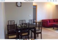 Cho thuê căn hộ tại 101 Láng Hạ, 146m2, 3PN, đồ cơ bản giá: 14tr/tháng