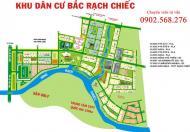 Cần bán gấp nền biệt thự mặt tiền Rạch Block D, 15x24m, mặt tiền đường 12m, giá 17,5triệu/m2