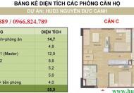 Bán chung cư HUD3 Nguyễn Đức Cảnh, diện tích 52,1m2.