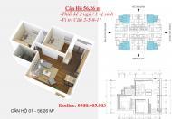 Bán chung cư Osaka Complex suất ngoại giao 15.8tr/m2 - LH 0988405003
