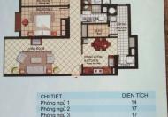 Bán căn hộ chung cư tại dự án Tây Nguyên Plaza, Cái Răng, Cần Thơ diện tích 114m2 giá 790 triệu