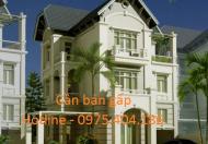 Cần tiền bán nhanh biệt thự ĐTM Văn Khê, Hà Đông, dt: 165m2 * 3,5 tầng, sổ đỏ, giá siêu rẻ