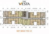 Nhà ở xã hội The Vesta, hỗ trợ lãi suất 5%/15 năm- Giá gốc từ CĐT