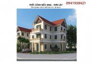 Bán suất ngoại giao liền kề biệt thự Phú Lương tự xây dựng, giá 22tr/m2