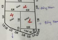 Bán đất DT: 60m2, MT: 4.5m, hướng: Đông Nam ở trung tâm Cột 3 giá rẻ