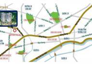 Căn hộ Summer Square gần vòng xoay Phú Lâm, giá 1 tỷ 450 triệu căn 2PN, LH 0918 764 888