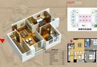 Cần bán gấp căn hộ chung cư Helios 75 Tam Trinh, căn góc 07 tòa A, DT 79m2/ 2PN, ban công Đông Nam