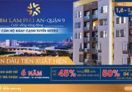 Căn hộ Q9 ngay tuyến Metro số 8, thanh toán đột phá 45% nhận nhà, trả góp 0% lãi suất