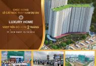 Bán căn hộ Luxury Home Q. 7- Suất nội bộ- TT 35% nhận nhà- 1,56 tỷ/căn/70m2- Tặng nội thất