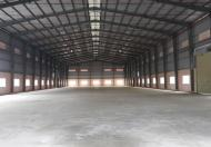 Cho thuê kho xưởng đường Nguyễn Cửu Phú, xã Tân Nhựt, Bình Chánh, DT 1.500m2, 80tr/th