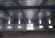 Cho thuê nhà xưởng 2500m2 trong KV 5000m2 trong KCN Tân Đô, Đức Hòa, Long An