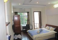 Cho thuê căn hộ dịch vụ khu Văn Cao, Ba Đình, Studio, DT 45m2, giá 9 triệu/tháng