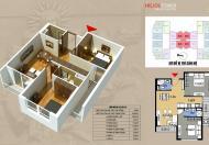 Thanh lý nhanh căn 1110 B chung cư 75 Tam Trinh, DT 68m2/ 2PN, ở luôn giá chỉ 25tr/m2 bao phí