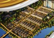Biệt thự ven sông (bán hầm + 3 tầng), giao nhà thô, TT 35% nhận nhà, tặng ngay 50tr- 100tr