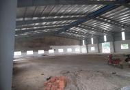 Cho thuê nhà xưởng mới xây dựng 5200 m2 , KCN Tân đô, Đức hòa, Long an.