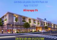 Bán và cho thuê chợ VCN Phước Hải, liên hệ chủ đầu tư VCN: 0972207450