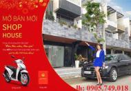Bán shophouse 2 mặt tiền xây sẵn, ngã 4 Ngô Quyền, cạnh công viên Đại Dương, LH: 0905.749.018