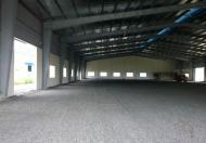 Cho thuê kho 5000 m2, trong KCN Nhơn Trạch 3, Đồng Nai