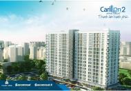 Cần bán gấp căn hộ Carillon 2, loại 2 PN + 3PN giá rẻ, Tân Phú- LH: 0901.839.179